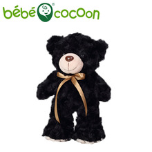 bebecocoon 20CM Soft Kawaii Standing Teddy Bears Plush Toys Stuffed Animals Bear Dolls with Bowtie Kids Toys for Girls Gifts(China)