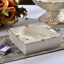 Large Size High-end Club Ceramics Ashtray China for Cigarette Table Place(China)