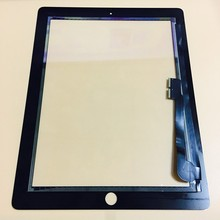 iSIU Replacement For iPad 2 / iPad 3 / iPad 4 Touch Screen Tab Touch Panel Glass Digitizer Sensor NOT LCD DISPLAY Black White(China)