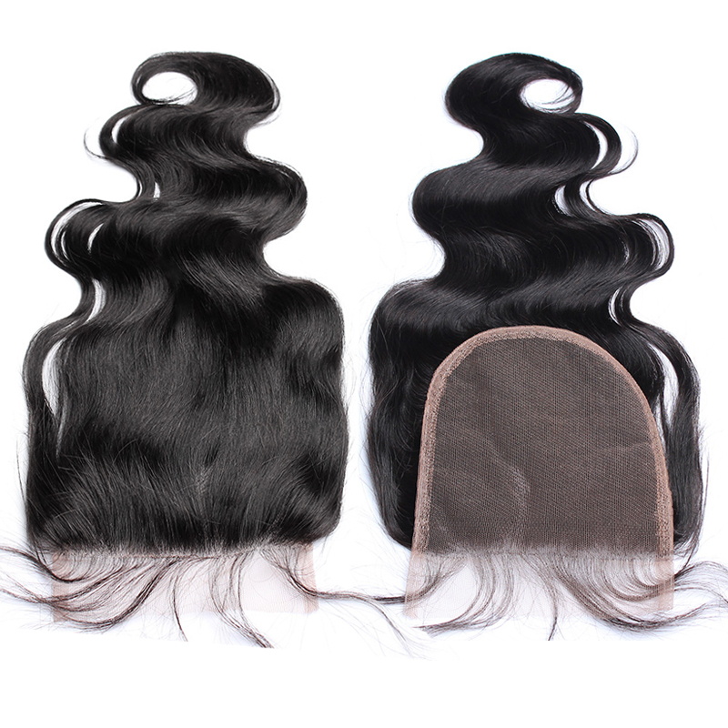 Body-Wave-5x5-Lace-Closure-Bleached-Knots-Human-Hair-Closure-Brazilian-Hair-Pre-Plucked-With-Baby (1)