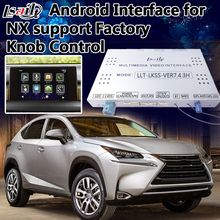 4-Core Android 6.0 Navigation Interface for 2014-2017 Lexus NX supprot Factory Knob Control , Mobilephone Miracast , WIFI Apps(China)