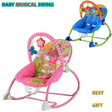 baby rocking chair musical baby automatic swing chair multifunctional Adjustable vibrating brand kids recliner cradle