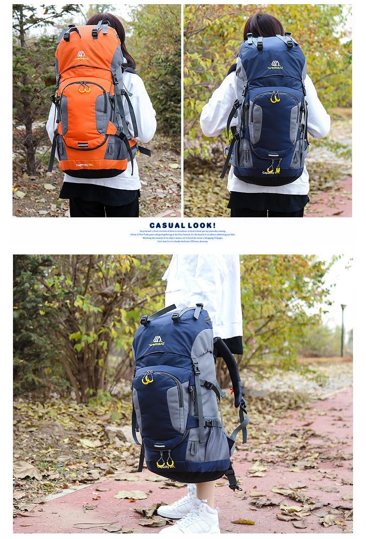 camping USD waterproof backpack 36