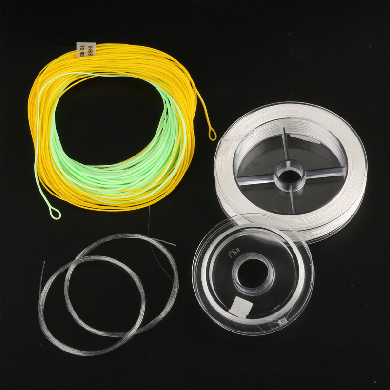 High Quality Fly Fishing Line Combo ( Fly line , Backing , Leader , Tippet material ) Fly Line Combo<br><br>Aliexpress