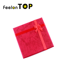 Random color New Designer 2016 Fashionable Colorful Paper Graceful Bracelets Jewelry Box Gift Package