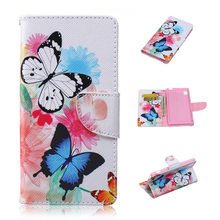 Buy Sony M4 Aqua Case Flip Pattern Cover coque Sony Xperia M4 Aqua E2303 E2333 E2353 PU Wallet Cases Card Holder Stand Coque for $3.25 in AliExpress store