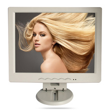 12 inch / 12.1 inch vga/usb connector monitor,song machine,cash register square screen resistive touch lcd monitor/display