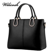 Wilicosh Top-Handle Handbags Women Bag Famous Designer Women Messenger Bags Tote Bolsas Fashion Leather Ladies Pouch Bag CLB15