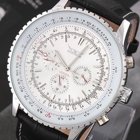 Chronograph 6 Hands 24 Hours Function Men Sport Watch Silicone Luxury Watch Men Military Watch Relogio Masculino<br>