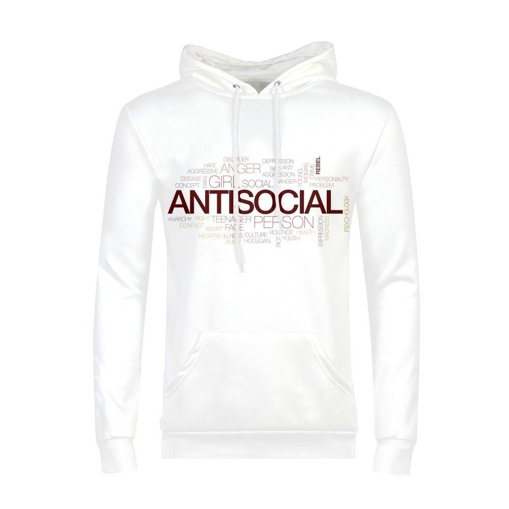anti social club Hoodie Cheese Animal 3d Print Sweatshirt Men Long Sleeve Clothes 2018 Boys Male Autumn Pullovers streetwear