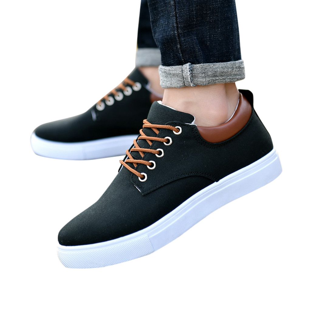 CHAMSGEND Shoes Sneakers Korean-Version Casual Fashion The And Summer Spring of Low Men title=