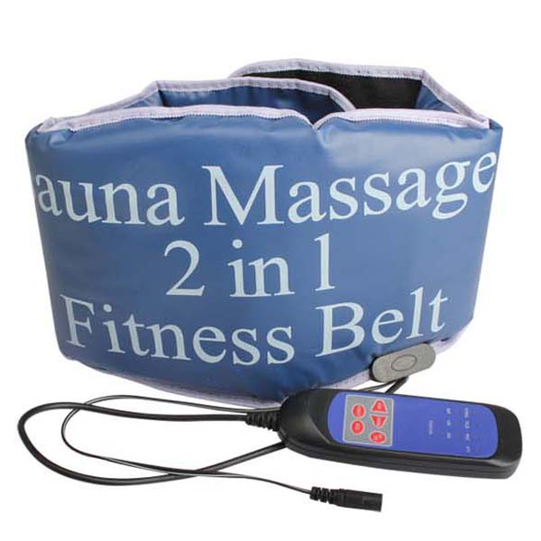 2 in 1 Electric Vibrating Sauna Fitness massage Belt Body Health care beauty Massager Heating tone RELAX TONE fat weight losing<br><br>Aliexpress