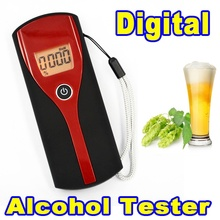 High Quality Alcohol Tester Breath Tester Professional Alcohol Breath Analyzer Tester Digital Breathalyzer with LED Display