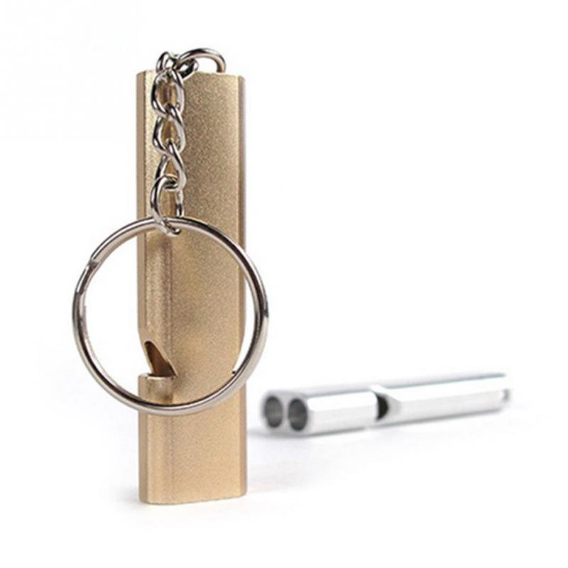 High-Quality-Double-Pipe-High-Decibel-Outdoor-Emergency-Survival-Whistle-Stainless-steel-Cheerleading-Whistle