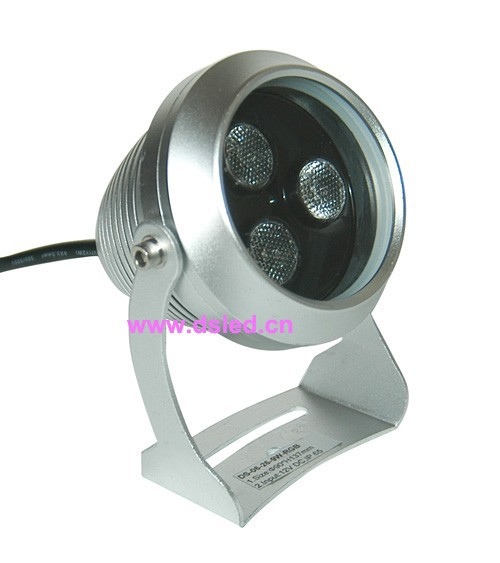 Free shipping !! Waterproof,good quality,high power 9W outdoor LED spotlight, LED projector light,DS-06-26,3X3W,12VDC<br>