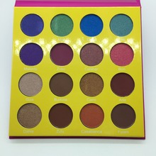 12/16 color eye shadow Palette  higlighter blusher faced eyeshadow Makeup Brand  Cosmetics Professional Shining Eye Shadow