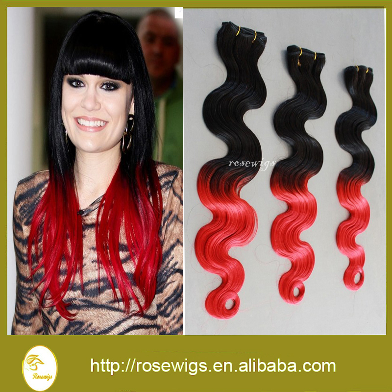 OFF 50% !!!  free shipping  body wave virgin brazilian hair extension  color 1b#/red<br><br>Aliexpress