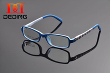 Deding Kids Optical Eyeglasses With Spring Hinge, Children Glasses Frame, Teens Glasses, TR90 Safe Flexible Frame Eyewear DD1167