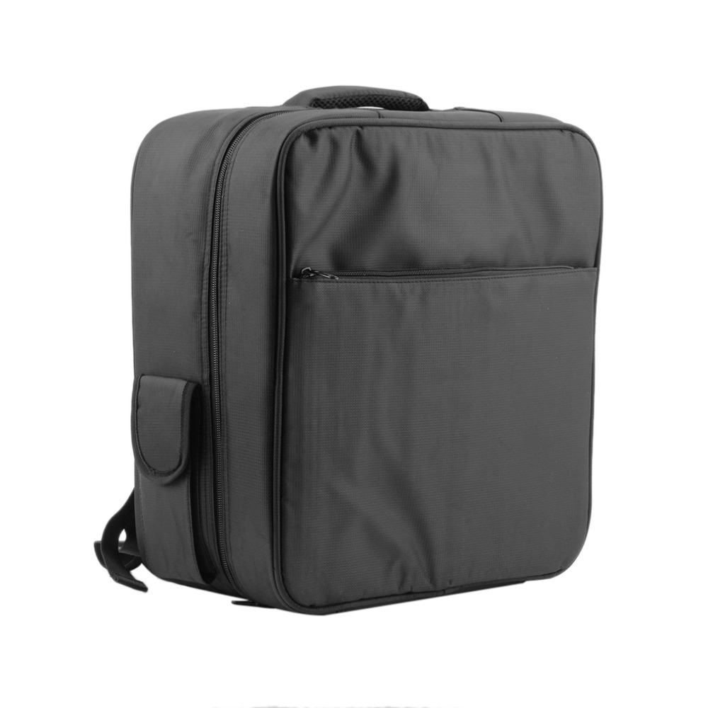 Black Nylon Carrying Case Shoulder Bag Backpack Adjustable For RC FPV 250 Drone<br>