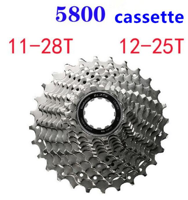 SHIMANO 105 CS-5800 Cassette 11s road bicycle bike freewheel 11-28T 11-32T 12-25T cycling bike cassette free ship<br><br>Aliexpress