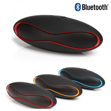 Mini Rugby Blutooth Handsfree Wireless Bluetooth Speaker Portable Receiver Support TF Card USB