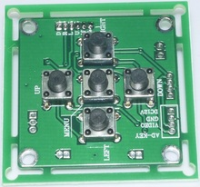 CCTV Camera Menu OSD Key Button For CCTV Camera(China)