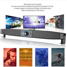 Smalody Multimedia Speaker Soundbar HIFI Box Subwoofer Stereo PC Speakers Party Home Theater For Laptop Computer Desktop  Noteb
