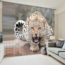 Bedding room Living room Tigers Animals Printed 3D Window Curtains For Wall Home Tapestry Decorative Drapes Cortinas para(China)