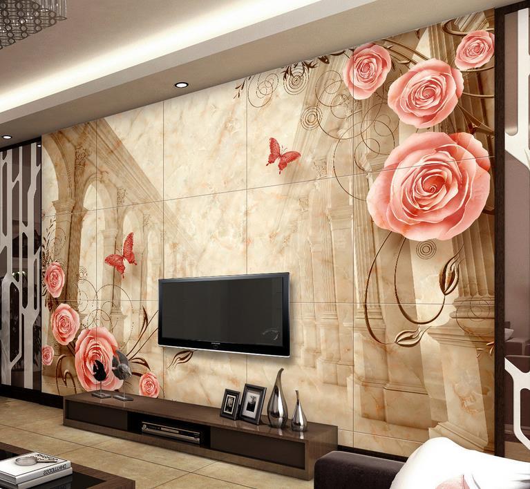3d mural wallpaper Custom 3d wallpaper walls Roman marble 3d wall murals wallpapers for living room 3d stereoscopic wallpaper<br><br>Aliexpress