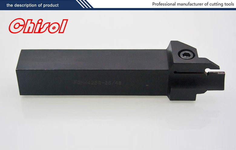 best selling cnc cutting tools Grooving tool holder FGHH425R-35/48 for  carbide inserts FMM400R-04 <br>