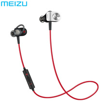 Original Meizu EP51 Wireless Sport Earphone Bluetooth Apt-X Earphone Headset Noise Aluminium Alloy Shell TPE For IOS Android