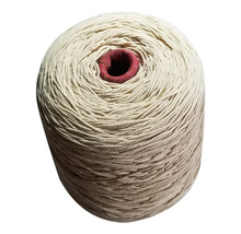 100% Natural cotton rope twine cords weight about 2 kilogram/cone hang handmade accessory DIY(China)