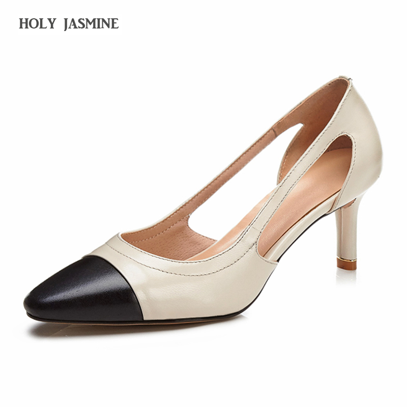 fashion pumps woman 2018 New Thin heels good quality shoes women high heel concise shoes for office ladies working Party shoes<br>