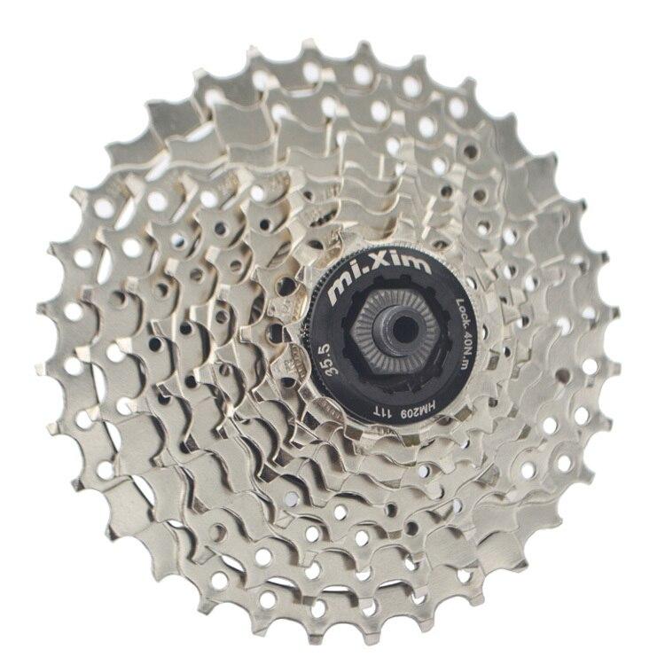 MIXIM Mountain Bike 9 Speed Card Type Flywheel Bicycle 27 Speed Cassette Freewheel Free Shipping<br>
