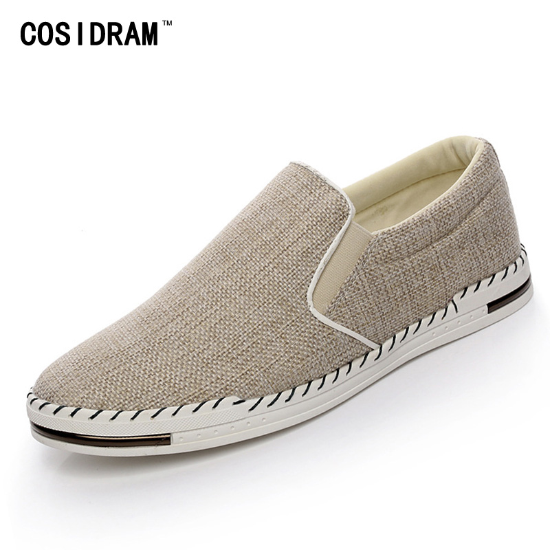 New 2017 Slip On Hemp Men Casual Shoes Rubber Sole Fashion Men Shoes Spring Autumn Breathable Male Footwear Flats RMC-707<br><br>Aliexpress