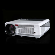 2017 New WiFi High Brightness 5600 Lumens LED Projector Full HD 1080P Video Digital Android System LAN Smart Projector