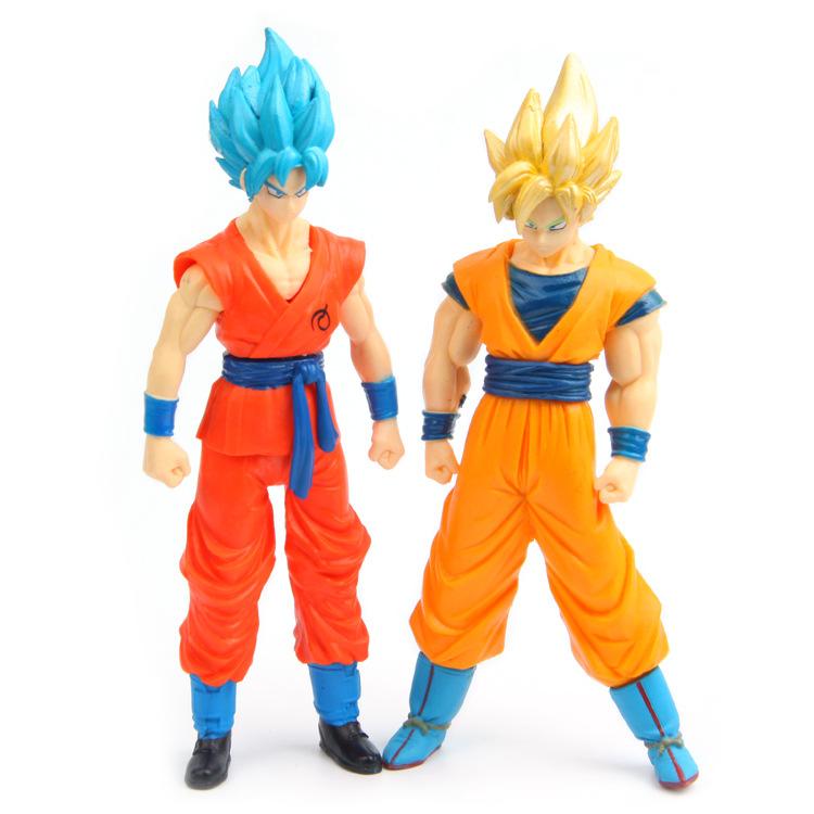 Dragon ball Z Super Saiyan Goku Vegeta figuras 2017 New Dragon ball Z Dragonball action figure son of goku vegeta model figurine 5