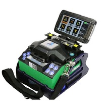 DHL Free Shipping  Optical Fiber Fusion Splicer Eloik ALK-88A  FTTH Fiber Optic Splicing Welding Machine