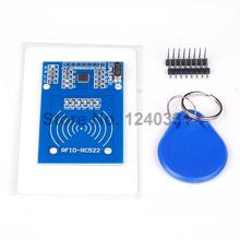 5PCS RC522 RFID Module with IC Card S50 Fudan Cards Key Chains for Arduino Provide Development Code FZ0542