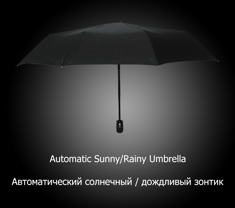 Wind Resistant Folding Automatic Umbrella Rain Women Male Auto ...
