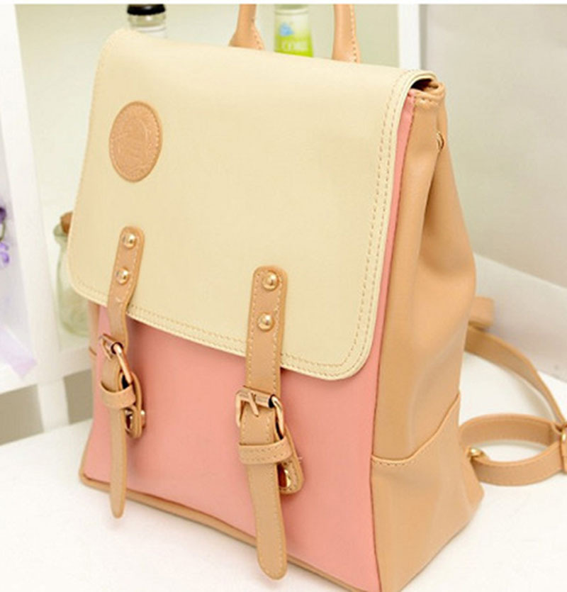 Women Leather Backpack School Bags High Quality Casual Bags Ladies Fashion Woman Backpacks Vintage Bolso European American Style<br><br>Aliexpress