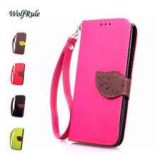 Leaf Case Lenovo P780 Cover Flip PU Leather & Soft Silicone Case For Lenovo P780 P 780 Case Women's Phone Hand Bag Coque Funda }