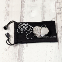 New Silver Diamond Heart Shape 4GB 8GB 16GB 32GB USB Flash Drive/Memory Stick & Gift Bag