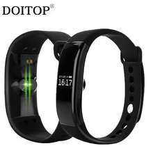 Buy DOITOP Sport Bluetooth Smart Wristband Heart Rate Monitor IP67 Waterproof Fitness Bracelet Tracker Smartband Android IOS A3 for $15.91 in AliExpress store
