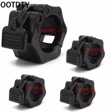 OOTDTY 2Pcs 25mm/28mm/30mm/50mm Dumbbell Barbell Collar Clips Clamp Gym Weight Lifting Fitness Training New