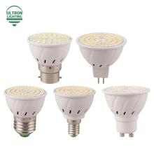 E27 E14 MR16 GU10 B22 Lampada LED Bulb 110V 220V Bombillas LED Lamp Spotlight 48 60 80 LED 2835 SMD Lighting