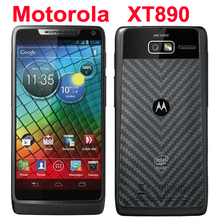 "Refurbished Original Motorola RAZR i XT890 Mobile Phone Unlocked Android 4.0 8GB 8MP 3G Wifi GPS 4.3"" Touchscreen Smartphone(China)"