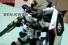 RX-93 Hi-v / Manatee Gundam (black inflammation fitted watermark Edition) Paper 3D Model