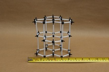 Creative Teaching Supply Chemistry Molecular Modeling Graphite Crystal structure Model Atomic Model Toys 9mm Molecular(China)