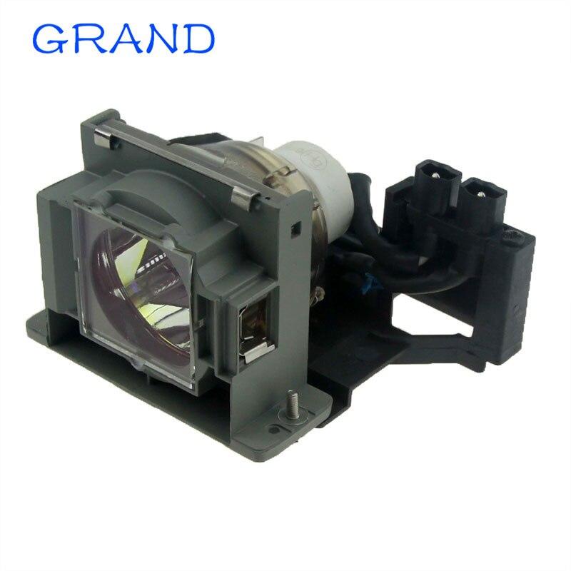 VLT-EX100LP Replacement Projector Lamp with Housing for MITSUBISHI DX320 / EX100U / EX10U / ES10U Happybate<br>
